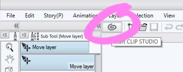 Abrir Clip Studio assets desde Clip Studio